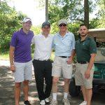 Hartford Restaurant Group's Zach Eddinger, Phil Barnet, Rich Barnet and Paul Motta.