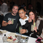 Tim Cabral, Owner, Ordinary; Moises Ramirez, Bartender, Ordinary; Veronica Sauret, Account Development Manager, Brescome Barton.