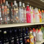 Inside Dexter Warehouse Liquors.