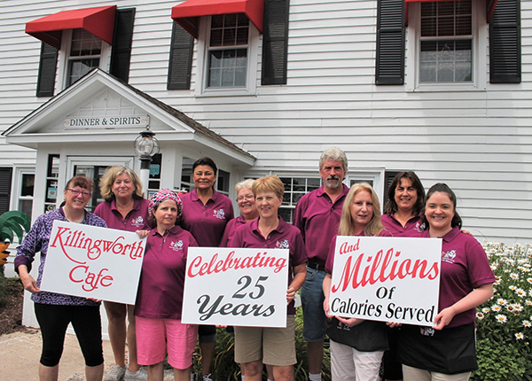 Connecticut's Killingworth Café Celebrates 25 Years in Business