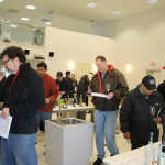 The tasting was held at Brescome Barton and Worldwide Wines in North Haven.