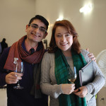 Miggy Torres of Toast Wines By Taste in West Hartford with McLean Oakeson, Sales Representative, Worldwide Wines.