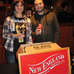 Niki Ellis and Matt Westfall of New England Brewing.