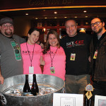 All from Back East Brewing: Patrick Morin, Michele Morin, Shannon Karlowicz, Tony Karlowicz and Stephen Andrews.