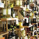 Inside Wine World of Bethel.