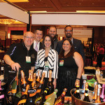Front row: Douglass MacLeod, NY/CT/VT Regional Sales Manager, Mionetto USA; Marcia Passavant, Senior Brand Manager, Slocum & Sons; Sherrie Aceto-Glynn, Sales Information Director, Slocum & Sons; Back row: Will Trupp, David Mensch and Richard Ramaya, all Sale Representatives, Slocum & Sons.