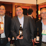 Oliver Mackinnon, Owner, Highland Imports; Jamie Clemente, Sales Manager, Highland Imports and Bruno Recouvreur, Sales Representative, Highland Imports.