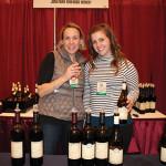 Emily Kuhn and Amanda Martin, Tasting Room Staff, Johnathan Edwards Winery.