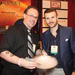 Bartenders Anthony DeSerio and Ryan Tunnacliffe of Sticks &