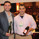 Anthony Mannuccia, Off-Premise Retail Account Specialist, Pernod Ricard; Paul Fede, Global Wine Ambassador, Pernod Ricard.