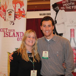 Dylan McCullough and Heather Kudlach of Pernod Ricard.