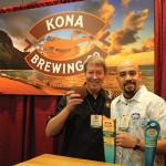 Scott Bauer and Richard Rivera of Kona Brewing Company.