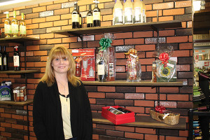 Gloria Moroch, store manager, Frankline Wine and Spirits.