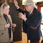 Jacques Lardière, Winemaker, Maison Louis Jadot with Linda McAllister, Sales Representative, Worldwide Wines.