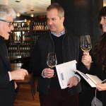 Jacques Lardière, Winemaker, Maison Louis Jadot; David Johnson, Owner, Putnam & Vine; and Angela Demmel, Employee, Putnam & Vine.
