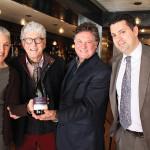 Kim Leonard; Jacques Lardière, Winemaker, Maison Louis Jadot; Stew Leonard, Jr., Owner, Stew Leonard's; and Frank Sansotta, Connecticut State Manager, Kobrand.