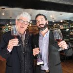 Jacques Lardière, Winemaker, Maison Louis Jadot and Vicente Siguenza, Owner, Harvest Wine Bar & Restaurant.