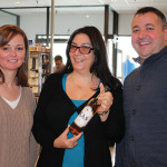 Kathleen Smith, DWS and Wine Buyer, Castle Wine and Spirits; Marushka Osman, Co-owner, KAS Spirits; and Jamie Clemente, Sales Manager, Highland Imports.