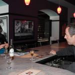 Osman presenting KAS Krupnikas to Franco Trotta of Tarantino Restaurant in Westport.