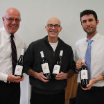 Blaise Tramazzo, Spirits Director, Hartley and Parker; Bruce Hurst, Divisional Manager, Delicato Family Vineyards; Ben Meyer, District Manager, Hartley and Parker.