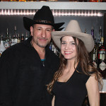 Rob Martini, Bar Manager of Camp's and USBG CT chapter member with Brooke Suzanne, Bartender, Camp's.