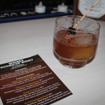 Cocktail mixed with a Pendleton whisky product.