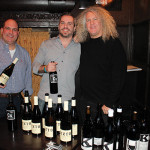 Scott Randall, Vice President of Sales CT, Opici Family Distributing; Tim Cabral, Owner, Ordinary; Charles Smith, Winemaker, Charles Smith Wines.