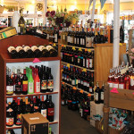Inside Cindy's Wine and Spirits.