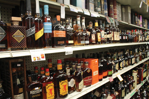 Inside Vickers' Liquors