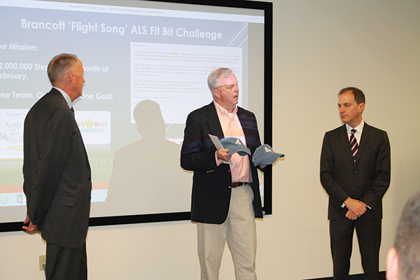 CDI Presents Check To ALS CT Chapter