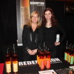 Ambassadors, Vine Ventures, pouring Redemption Rye, Redemption High Rye Bourbon and Redemption Bourbon.