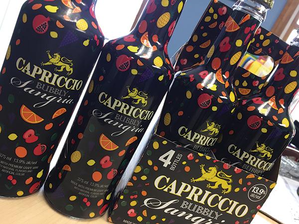 Alpha Distributing Offers Capriccio Bubbly Sangria