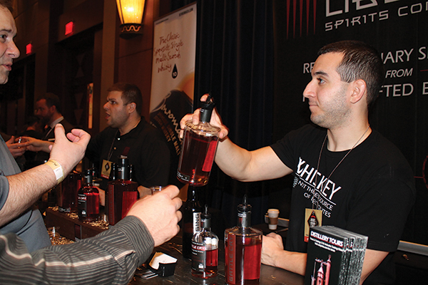 Sons of Liberty Spirits Pours at Whiskey Fest, Gin Wins Style Award