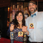 Drew Kacik, Marketing Manager, Saxtons River Distillery with Christina Kacik.