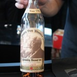 """Pappy Van Winkle, 23-year-old, during """"Savor The Legends"""" on April 7."""