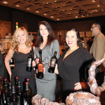 Donna Taylor, Vine Ventures; Teresa Drew, State Manager CT, Delicato Family Vineyards; Amber DeShields, Vine Ventures.