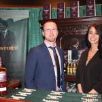 Tim Herlihy, Brand Ambassador, Tullamore Dew Irish Whiskey with Allie Dubinksy, Promotions, Tullamore Dew.