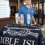 Nate Neville, Director of Sales, Thimble Island Brewing Company.