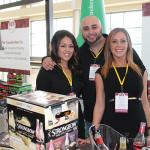 Diana Hernandez, Formula Promotions; Michael Loudon, Off-Premise Manager CT, Heineken; Jaime Marconis, Formula Promotions.