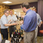 CDI team members learned about Michael Corso Selections' wines.