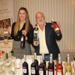 Caroline Abbott, Boston-Metro Market Manager, Inspired Beverage with Alexei Beratis, President, Inspired Beverage.