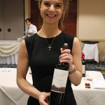 Victoria Rudolph, Regional Manager NY/NJ/PA, The Hess Collection with Colome Estate Malbec 2012 from Salta, Argentina.