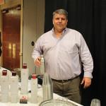 John Considine, Vice President Control States, Klin Spirits with Hammer + Sickle Vodka.