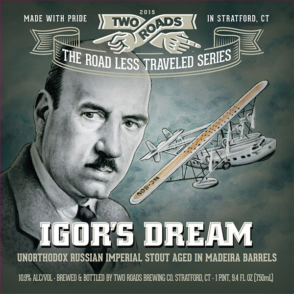 Two Roads Brewing Honors Stratford's Igor Sikorsky