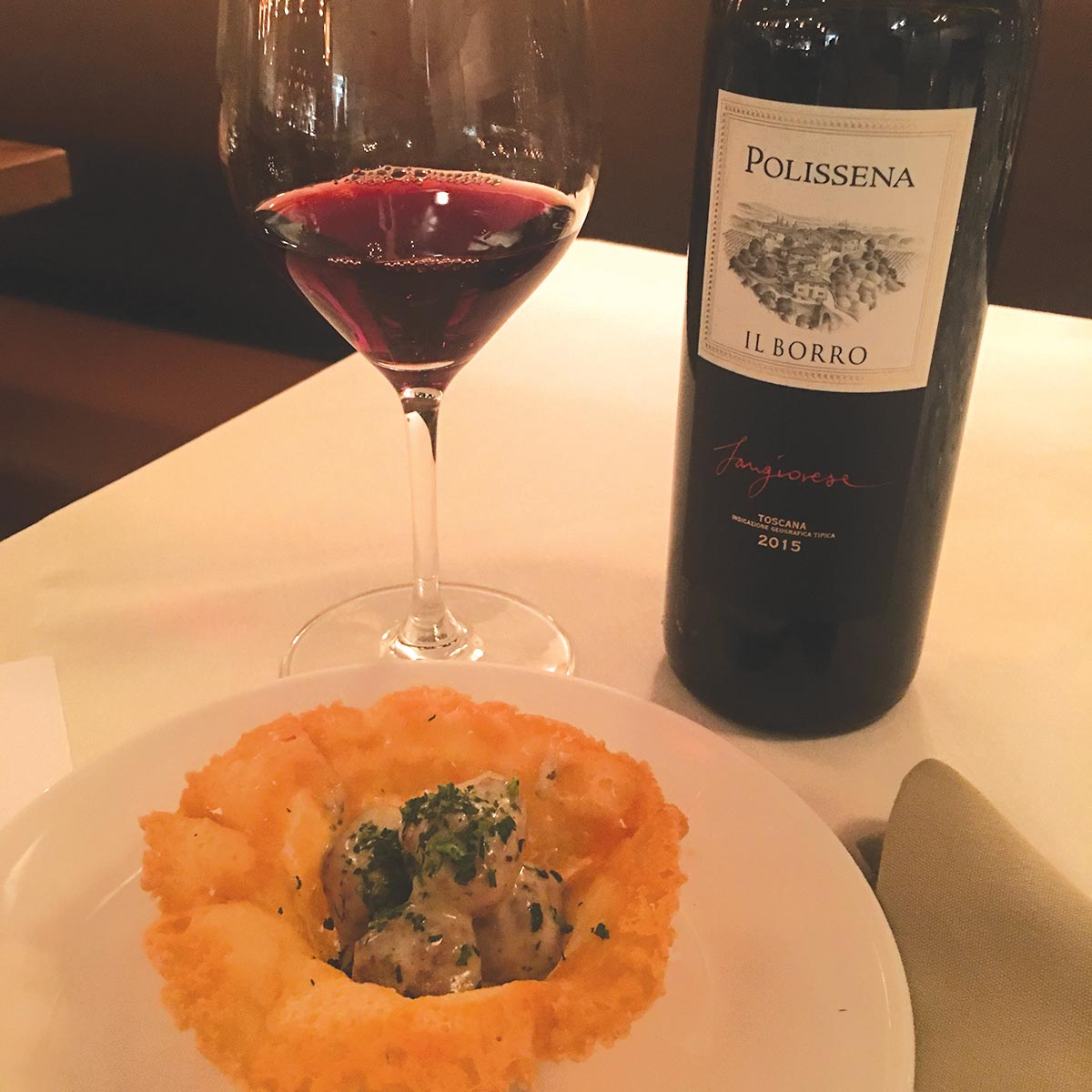 Angelini Wine Features Il Borro Wines at Benefit Wine Dinner