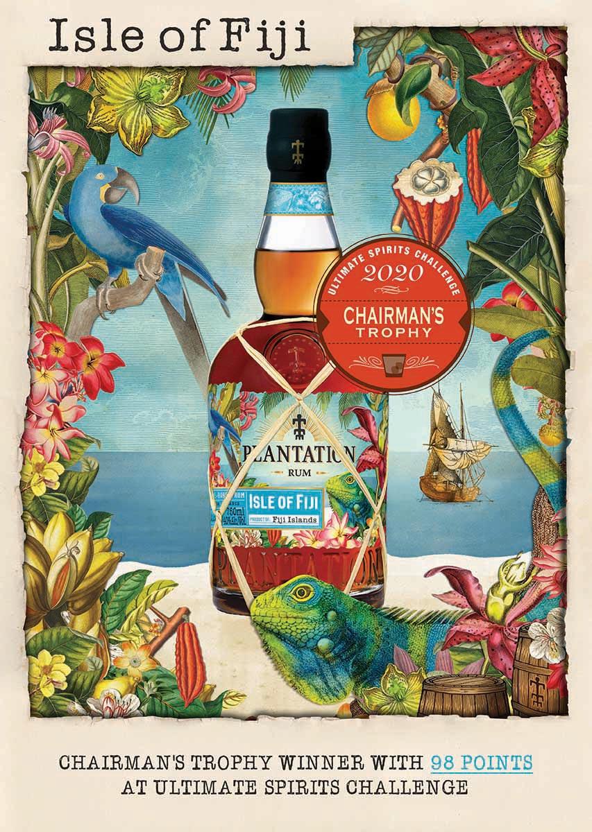 Hartley & Parker Celebrates Isle of Fiji Rum