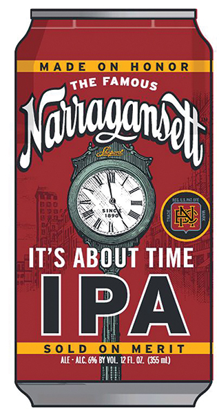Narragansett Brewing Co. Launches New IPA, Brewed In Home State