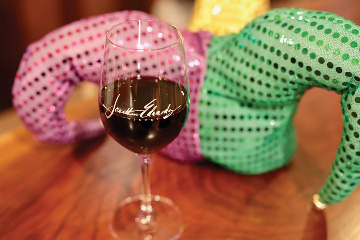 Jonathan Edwards Winery Celebrates Mardi Gras
