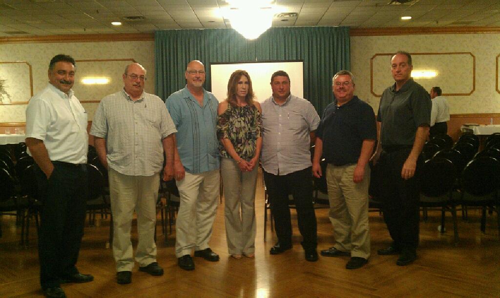 J Polep Sales Meeting Features Team Members
