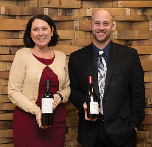 Michelle Ortago, Business Manager, CDI and Jermey Doyle, Trinchero Family Estates, Account Development Specialist.